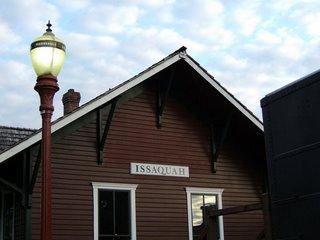 [photo of Issaquah Train Depot]