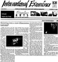 [article in the International Examiner]
